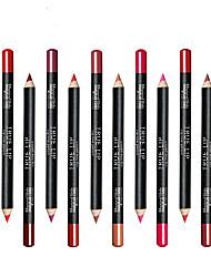 abordables -Stylos & Crayons Crayons à Lèvres Gloss coloré / Couverture / Longue Durée Maquillage Cosmétique Quotidien Accessoires de Toilettage