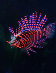 cheap -Fish Tank Aquarium Decoration Fish Artificial Fish Random Color Decoration Resin 1 pc