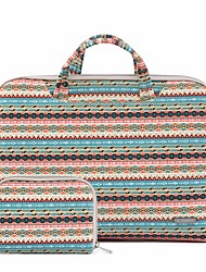 "cheap -11.6"" 13.3"" 15.6"" Bohemian Style Canvas Briefcase Handbags Fabrics for Macbook/Surface/HP/Dell/Samsung/Sony Etc"