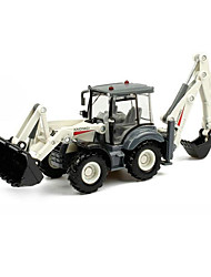 cheap -1:50 Metalic Plastic Construction Truck Set Wheel Loader Toy Truck Construction Vehicle Toy Car Kid's Car Toys