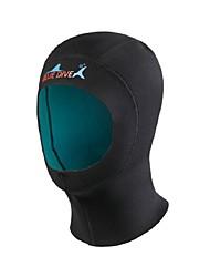 Недорогие -Bluedive Шлемы для дайвинга Толстая 1mm Нейлон Неопрен для Взрослые - Сохраняет тепло Быстровысыхающий Бесшовные Плавание Дайвинг Серфинг