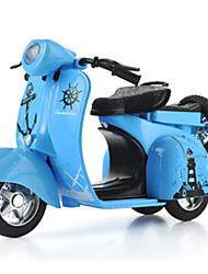 Недорогие -Модели автомобилей Игрушечные мотоциклы Машинки с инерционным механизмом 1:10 Оригинальные Металл Мотоспорт Мальчики Подарок