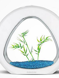 cheap -Fish Tank Fish Bowl Ornament Energy Saving Plastic 1 pc