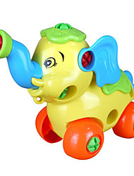 cheap -1 pcs Educational Toy Elephant Creative Plastic Imaginative Play, Stocking, Great Birthday Gifts Party Favor Supplies Girls' Kid's