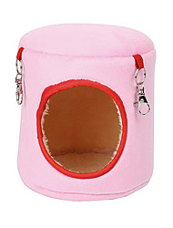 cheap -Rodents Hamster Beds Cotton Blue Pink