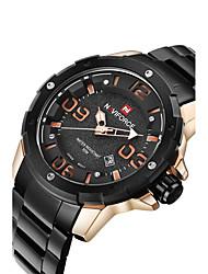 Недорогие -Муж. Наручные часы Модные часы Спортивные часы Кварцевый Горячая распродажа сплав Группа На каждый день Разноцветный