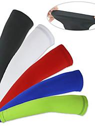 Недорогие -XINTOWN Велосипедные рукава Armwarmers Легкость Защита от солнечных лучей Устойчивость к УФ Дышащий Комфорт Велоспорт Красный Зеленый Синий Эластан Зима для Муж. Жен. Взрослые / Эластичная