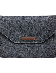 """cheap -Sleeve for Macbook Air 11""""/13"""" Macbook Pro 13"""" MacBook Pro 13"""" with Retina display Solid Color Textile Material The New black Felt Bag"""