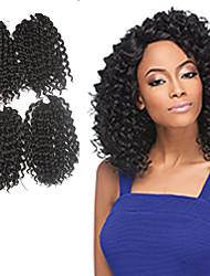 cheap -Braiding Hair Jerry Curl Pre-loop Crochet Braids / Human Hair Extensions 100% kanekalon hair / Kanekalon Hair Braids Daily