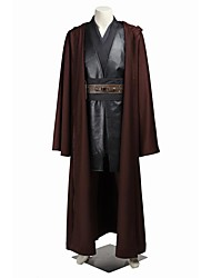 cheap -Super Heroes Cosplay Cosplay Costume Halloween Props Party Costume Men's Women's Movie Cosplay Brown Coat Pants Shawl Christmas Halloween Carnival Jazz Wool / Gloves / Belt / More Accessories / Belt