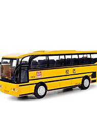cheap -Toy Car Pull Back Vehicle Farm Vehicle Bus Novelty Simulation Classic & Timeless Boys' Toy Gift / Metal