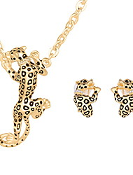 cheap -Women's Jewelry Set Rings Set Animal Ladies Earrings Jewelry Gold / Silver For Wedding Party Daily Casual / Necklace