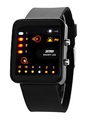 Недорогие -Муж. электронные часы Наручные часы Модные часы Спортивные часы Цифровой Повседневные часы Натуральная кожа Группа Кулоны На каждый день