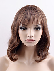 cheap -Synthetic Wig Straight Straight Wig Short Brown Synthetic Hair Women's Brown