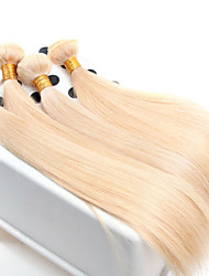 cheap -Virgin Human Hair Remy Weaves Straight / Classic 500 g More Than One Year Daily