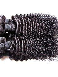 cheap -Human Hair Remy Weaves Curly / Kinky Curly Brazilian Hair 1000 g More Than One Year