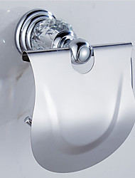cheap -Toilet Paper Holder Contemporary Brass 1 pc - Hotel bath
