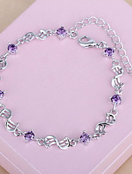 cheap -Chain Bracelet Fashion Sterling Silver Bracelet Jewelry Silver For Gift