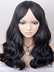 cheap -europe and the united states in the new long term shawl wave black in the high temperature wire wig