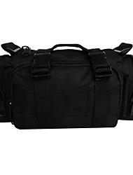 cheap -6 L Waist Bag / Waistpack Sling & Messenger Bag Shoulder Messenger Bag Multifunctional Outdoor Camping / Hiking Oxford Three Sand Color Digital Desert Mud Color
