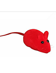 cheap -Squeaking Toy Mouse Toy Mice & Animal Toy Interactive Cat Toys Fun Cat Toys Cat Squeak / Squeaking Mouse Rubber Gift Pet Toy Pet Play