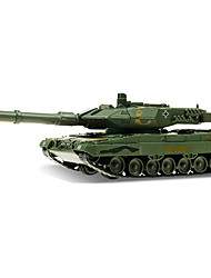cheap -1:48 Metalic Plastic ABS Military Vehicle Tank Toy Truck Construction Vehicle Toy Car Model Building Kit Retractable Tank Boys' Car Toys / 14 years+