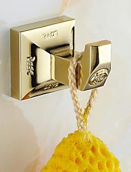 cheap -Robe Hook Antique Brass 1 pc - Hotel bath