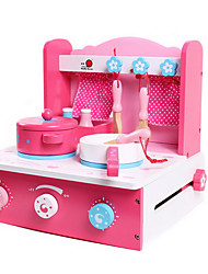 cheap -Toy Kitchen Set Pretend Play Play Kitchen Novelty Simulation Wooden Kid's Boys' Girls' Toy Gift 1 pcs