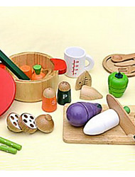 cheap -Pretend Play Play Kitchen Novelty Extra Large Wooden Kid's Boys' Girls' Toy Gift 1 pcs