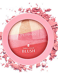 cheap -Powders Blush Dry Coloured gloss / Coverage / Long Lasting Eye / Face Makeup Cosmetic