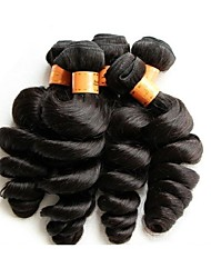 cheap -Human Hair Remy Weaves Loose Wave Brazilian Hair 1000 g More Than One Year