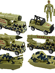cheap -Pull Back Vehicle Military Vehicle Truck High Quality Boys' Toy Gift