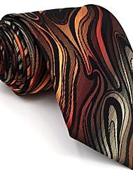 cheap -Men's Party / Work / Basic Necktie - Geometric / Color Block / Jacquard Basic