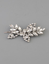 cheap -Rhinestone Hair Clip with 1 Wedding / Casual Headpiece