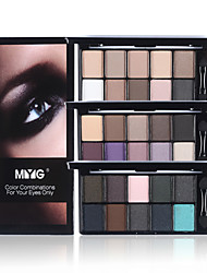 cheap -Eyeshadow Palette Powders Eye Matte Shimmer Glitter Shine smoky Coloured gloss Coverage Long Lasting Daily Makeup Halloween Makeup Party Makeup Cosmetic Gift