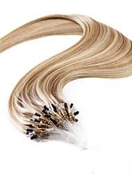 cheap -Neitsi Micro Ring Hair Extensions Human Hair Extensions Straight Ombre Human Hair Extensions Human Hair Women's