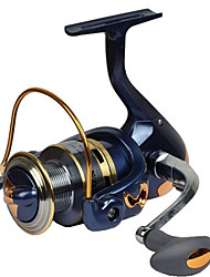 cheap -Fishing Reel Spinning Reel 2.6:1 Gear Ratio+13 Ball Bearings Hand Orientation Exchangable General Fishing - SF3000