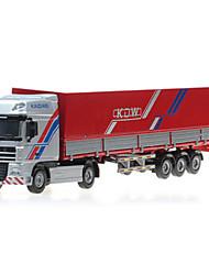 cheap -Plastic Truck Cargo Truck Toy Car Model Car Retractable Truck Boys' Girls' Kid's Car Toys Gift Birthday Party Favor