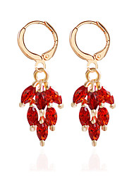 cheap -Women's Drop Earrings Earrings Jewelry Blue / Rainbow / Gold / Silver For Wedding Party Casual