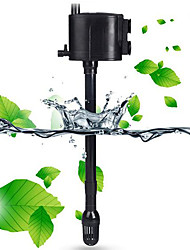 Недорогие -Аквариумы Аквариум Водные насосы Пылесос Бесшумно пластик 220-240 V / # / #