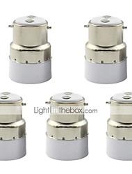 cheap -1pc B22 to E14 Small Screw Base LED Light Adapter Holder Converter Socket