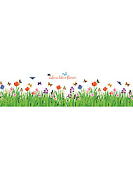 cheap -Decorative Wall Stickers - Plane Wall Stickers Animals / Fashion / Florals Living Room / Bedroom / Bathroom
