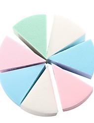 abordables -Rond Houppette Éponges de maquillage Naturel Accessoires de Maquillage Produits de Beauté Soins Personnels Pour Outils de beauté Blende