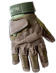cheap -Gloves for Hunting Men's Terylene Black / Army Green / Khaki