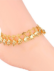 cheap -Women's Body Jewelry Body Chain / feet jewelry Gold / Silver Vintage / Party / Work Platinum Plated / Gold Plated / Alloy Costume Jewelry For Summer / Elephant