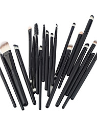 cheap -Professional Makeup Brushes Makeup Brush Set 20pcs Portable Travel Eco-friendly Professional Wood Makeup Brushes for