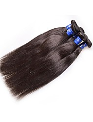 cheap -Human Hair Remy Weaves Straight Brazilian Hair 1000 g 1 Year