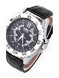 cheap -Men's Mechanical Watch Wrist watch Dress Watch Fashion Watch Sport Watch Automatic self-winding Hot Sale Genuine Leather Band Charm