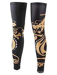 cheap -1 Pair XINTOWN Leg Warmers / Knee Warmers UPF 50 Lightweight Sunscreen Bike Black Elastane Winter for Men Women Adults' Road Bike Mountain Bike MTB Running / Stretchy / UV Resistant / Breathable