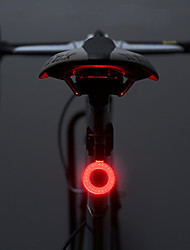 cheap -LED Bike Light Rear Bike Tail Light Safety Light Mountain Bike MTB Bicycle Cycling Waterproof Multiple Modes Super Brightest Portable 10 lm Rechargeable USB Camping / Hiking / Caving Cycling / Bike